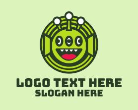 Brand - Tree Eye Alien logo design