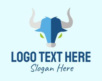 Taurus - Taurus Bull Head  logo design
