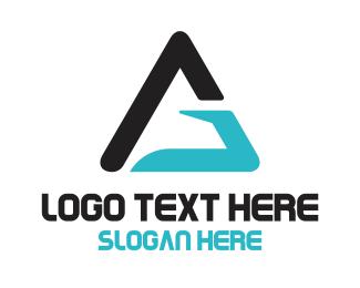 Handyman - G Triangle  logo design
