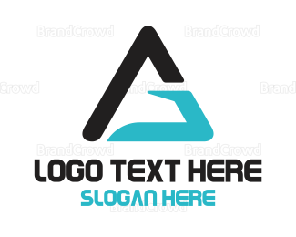 Triangle - G Triangle  logo design