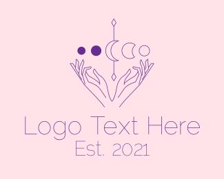 Numerology - Spiritual Astrology Astrologist logo design