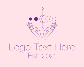 Skincare - Spiritual Astrology Astrologist logo design