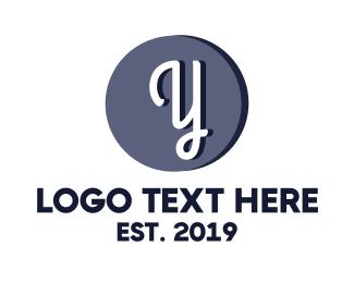 Cursive - Cursive Y logo design