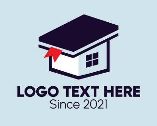 School - Home Library School logo design