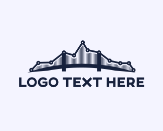 Long - Analytic Bridge logo design