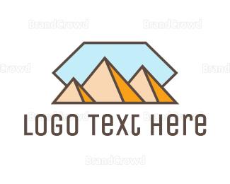 Abstract - Abstract Pyramid logo design
