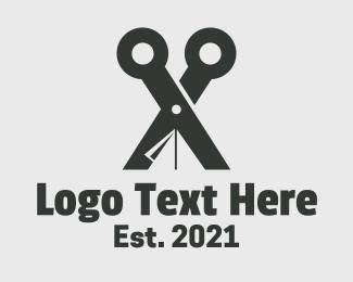 Art - Paper Art Scissors logo design