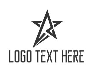 Small Business - Black Star logo design
