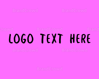 Bachelorette - Hot Pink Graffiti Wordmark logo design