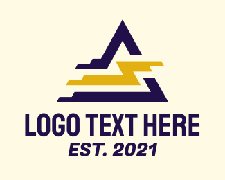 Electrical Engineer - Electric Power Triangle logo design