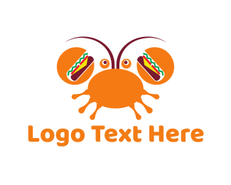 Burger - Crab Burger logo design