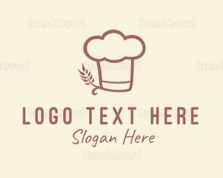 Bread - Baking Hat logo design