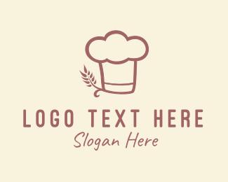 Hat - Baking Hat Restaurant logo design