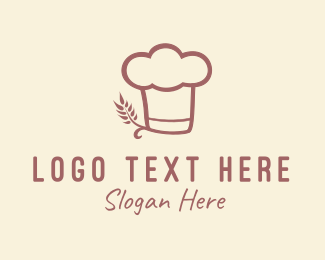 Wheat - Baking Hat logo design