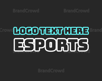 Text - Electric Sports Text logo design