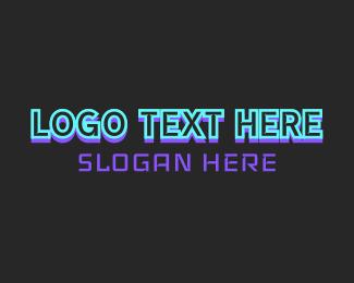Electric Sports Text Logo