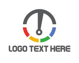 Gauge - Letter T Gauge logo design