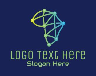 Internet Provider - African Circuit Tech  logo design