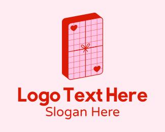 Valentines Day - Valentine Love Gift  logo design