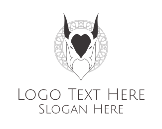 Occult - Evil Goat logo design