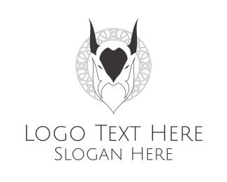Evil - Evil Goat logo design