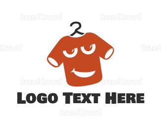 Dry Cleaner - T-shirt Mascot logo design