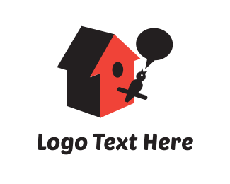 Nest - Bird Chat logo design
