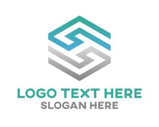 Letter H - Abstract Letter H logo design