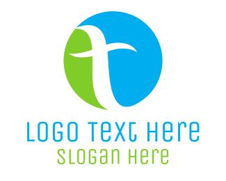 Letter T - Letter T Circle logo design
