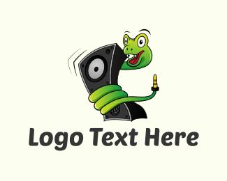 Music Snake Logo