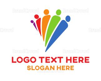 Diversity - Diverse People logo design