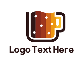 Mug - Digital Beer Mug logo design