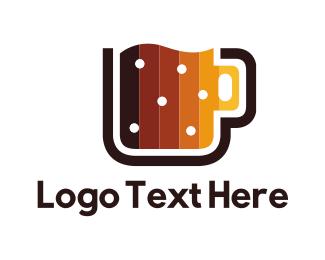Beer - Digital Beer Mug logo design