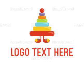 Kids Party - Toy Boy logo design
