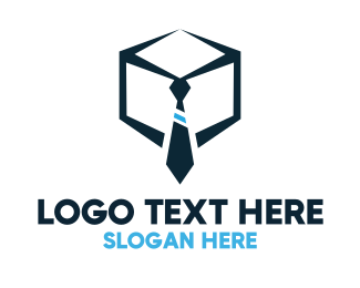 Human Resource - Tie Box logo design