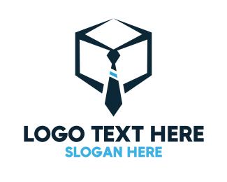 Recruiter - Tie Box logo design