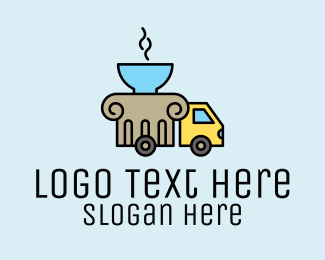 Delivery Service - Soup Delivery Service logo design