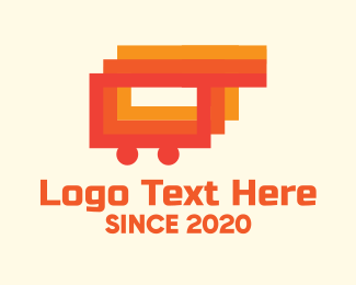 Triple - Modern Shopping Cart logo design
