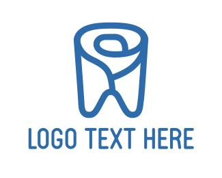 Tooth - Flower Tooth logo design