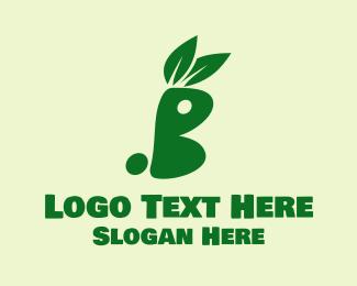 Bunny - Green Bunny logo design