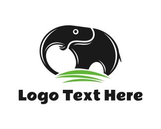 Ivory - Black Elephant Mountain logo design