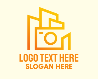 Skyline - Modern Camera Building logo design