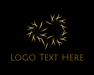 Beautify - Golden Stars logo design