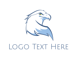 Beak - White Eagle logo design