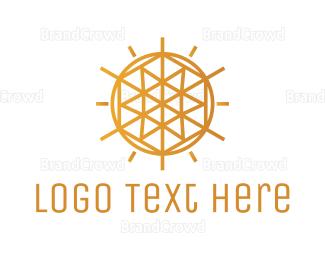 Sun - Diamond Sun logo design