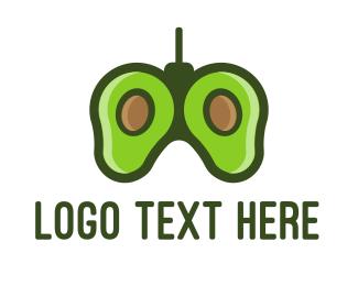 Controller - Avocado Controller logo design