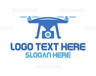 Drone Pilot - Blue Drone Photography logo design