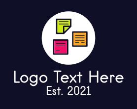 Management - Sticky Note logo design