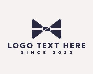 Clothes - Black Tie logo design