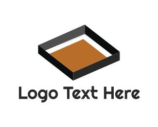 Playground - Sandbox logo design